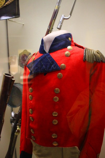 General Brock's tunic