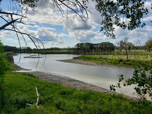 The Assiniboine River by Turtle Crossing