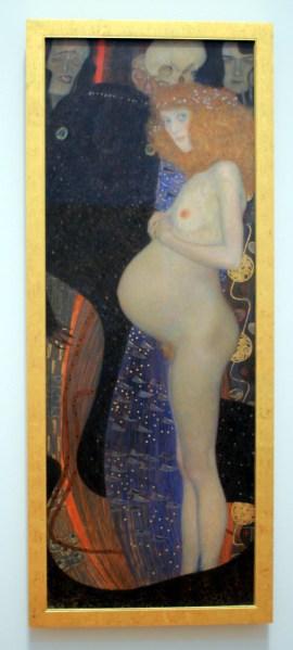 Hope I, by Gustav Klimt