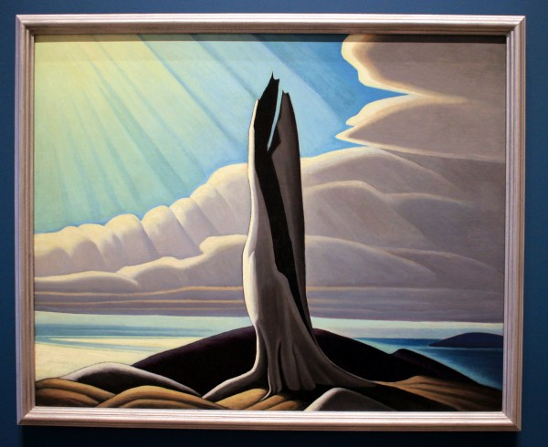 North Shore, Lake Superior, by Lawren S. Harris