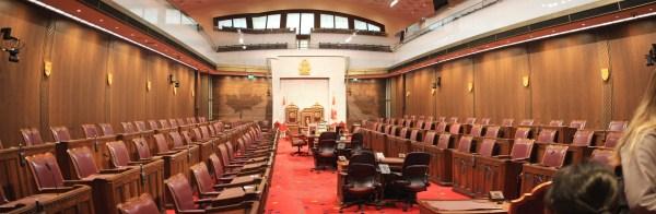 Senate chamber panorama