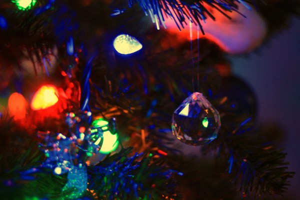 An ornament on the tree