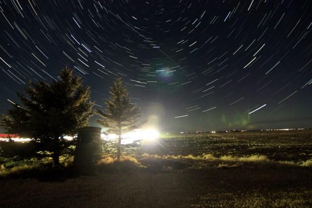 Star Trails, Mar. 21, 2021