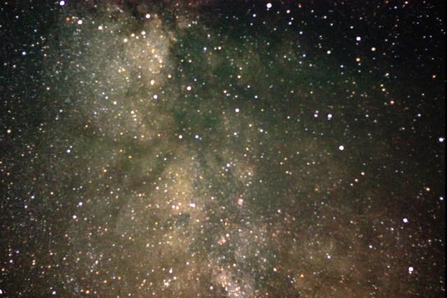 Milky Way closeup