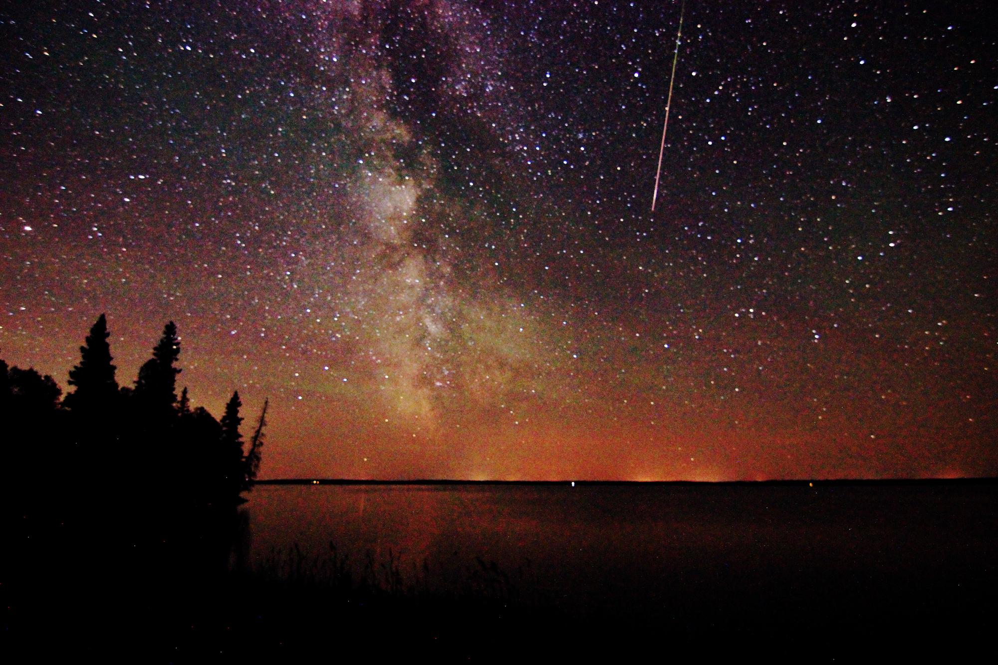 Milky Way and Perseid