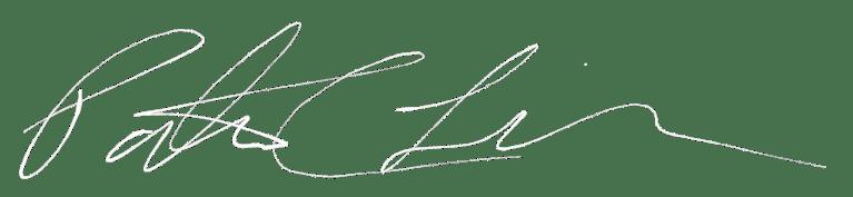 Banner Image - Personal Written Signature - Patrick Lipp