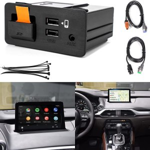 Android Auto/Apple CarPlay Retrofit Kit for Mazda 3, 6, CX-5, CX-3, & MX-5 Miata