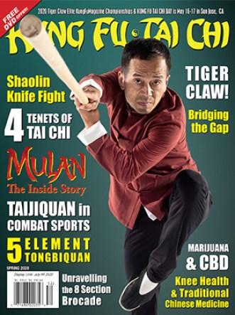 Cover image of Kung Fu Tai Chi magazine: Spring 2020