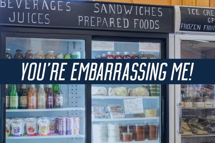 GROCERY embarrassing