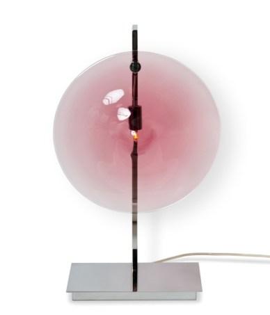 Lampe de table - ORBE - Chrome + Amethyste