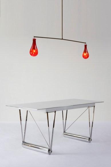 Cylinder Desk Table