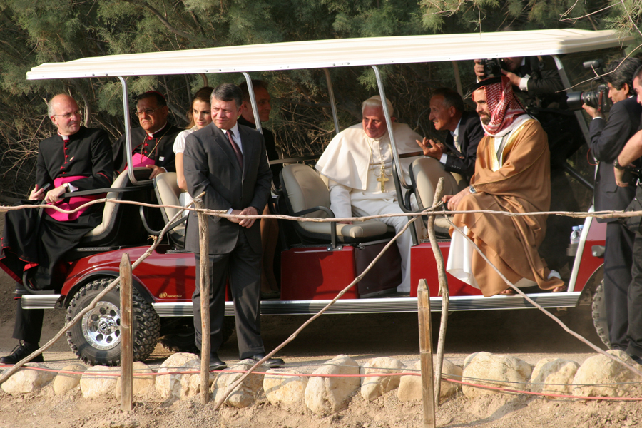 The papal entourage.  (Patrick Novecosky photo)