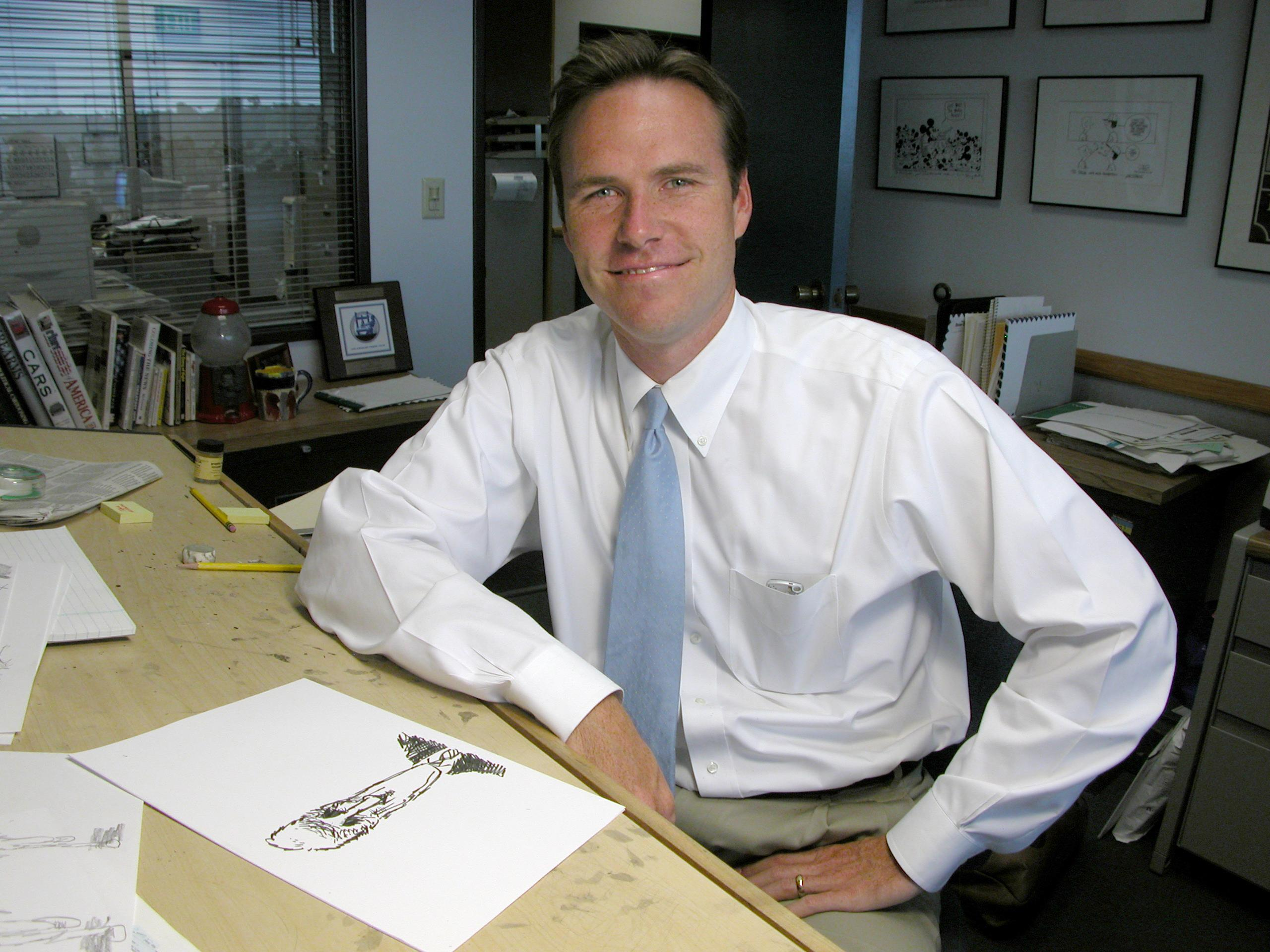 Pulitzer Prize-winning cartoonist Steve Breen