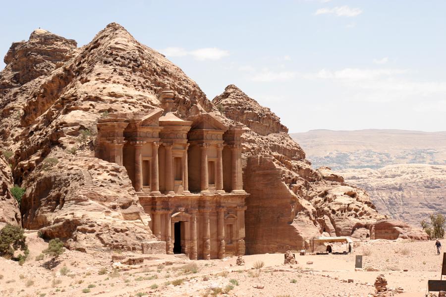 "The massive ""Monastery"" is impressive at 3,750 above sea level"