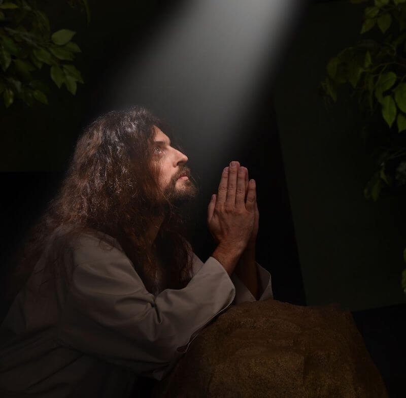 Jesus prayed for Peter. Daily devotional