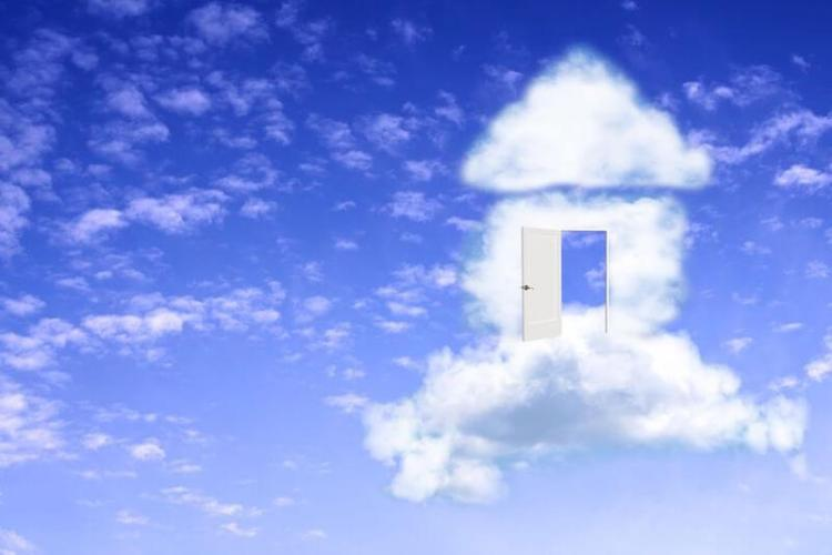 heavens declare the glory of God showing a house in the sky