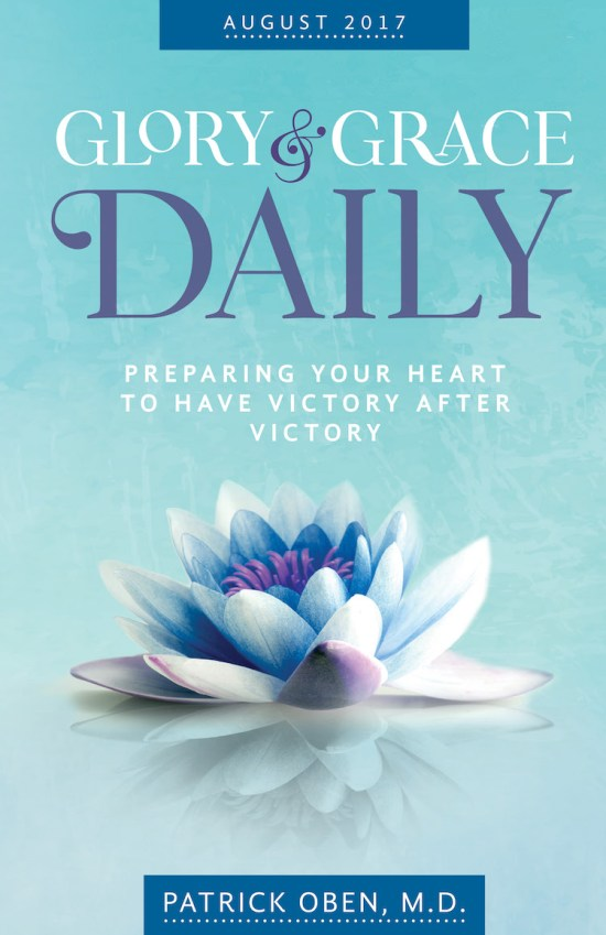 August 2017 devotional cover for glory and grace