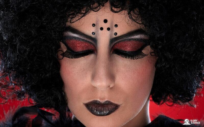 Succubus incubus demons showing a woman's face