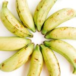 Spiritual hunger image showing a group of bananas in a circle