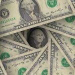 Power to create wealth image showing dollar bills