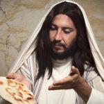 Image of God showing Jesus