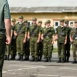 Rebuking demons showing military commander