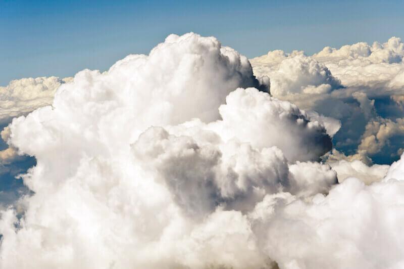 Clouds full of rain