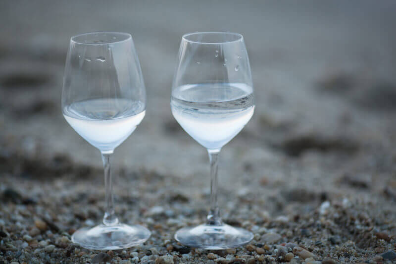 by two immutable things showing two glasses