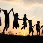 joyful heart medicine to the body showing joyful kids