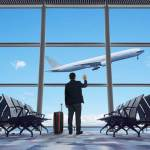 finding favor with God image showing a man in the airport