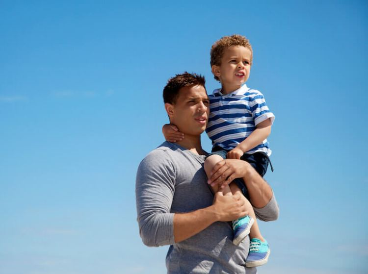 dad and his son, relationship with God explained