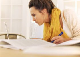 berean spirit showing a woman studying