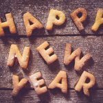 happy new year showing the letters of happy new year