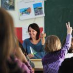 Holy Spirit is a teacher showing a woman teaching