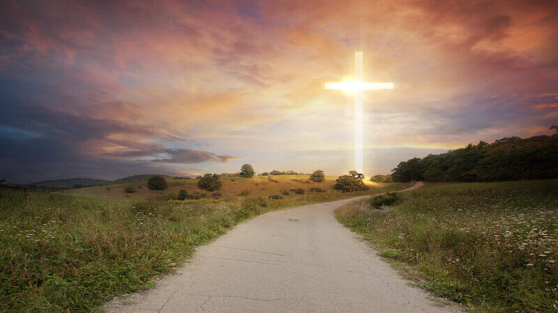 yielding to the Spirit showing a road to the cross