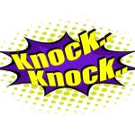 knock and the door shall be opened showing the word knock