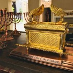 the mercy seat showing the ark of the covenant