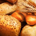 I am the Bread of Life showing loaves of bread