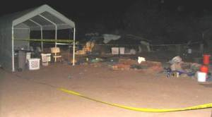 Sweat dome: Photo courtesy of Yavapai County sheriff's office.