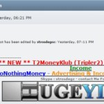 JSS TRIPLER 2 (T2) UPDATE: Serial Ponzi-Board Huckster 'Strosdegoz' Deletes MoneyMakerGroup Link That Showed T2 Presence In The United States, Italy
