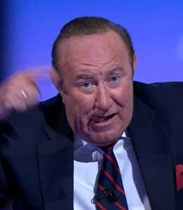"Andrew Neil yesterday made the universal ""[batspit] crazy"" gesture after trying to interview Alex Jones of InfoWars."