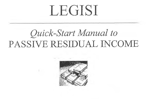 "This Legisi ""Quick Start Manual"" showed investors how to open payment accounts at E-bullion and e-Gold, both of which provided services to HYIP scams and both of which were implicated in money-laundering schemes. e-Bullion operator James Fayed was convicted in 2011 of arranging the grisly murder of his wife."
