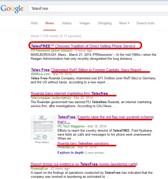 From Google News search results.
