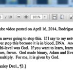 SEC: TelexFree's Sann Rodrigues On YouTube: God Started MLM And Made 'Binary'; 'I Am Never Going To Stop This'