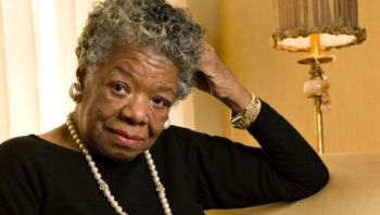 Maya Angelou. Source: Wake Forest University News Center.