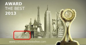In a curious promo earlier this year, Egyptian pyramids were used as an art element by cheerleaders for TelexFree, an alleged pyramid scheme. Source: ConventionTelexFree.com. Red highlight by PP Blog.