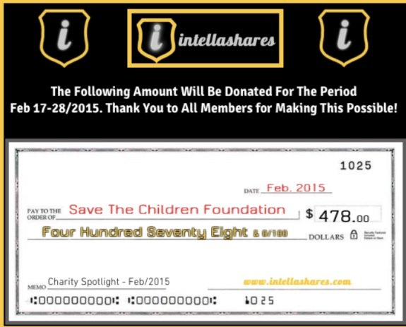 IntellaShares reportedly is threatening members who file disputes -- all while trading on the name of Save The Children. Photo source: screen shot from website of IntellaShares.