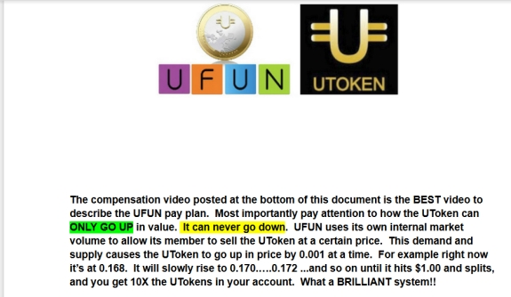 From a promo for UFunClub/UToken online.