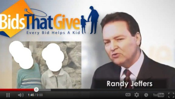 Randall Jeffers in a pitch for BidsThatGive. From the PP Blog archives, July 2012.