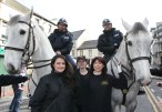 Mounted Gardai, Markree Castle girls